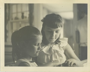 Thumbnail of Sharon Kahn and unidentified friend