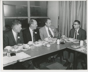 Thumbnail of Gorthy, Greve, McAffee and Wojtowicz at a joint meeting of the American society of tool engineers and ICD