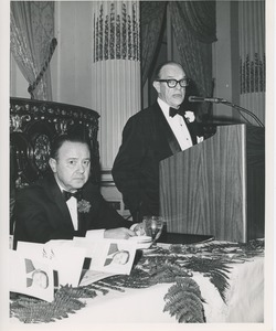 Thumbnail of Unidentified men in tuxedos at an ICD event