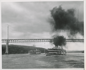 Steamboats on the water
