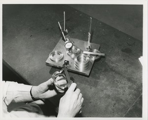 Thumbnail of Hands inspecting materials created by ICD's industrial services division