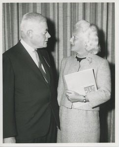 Thumbnail of Mrs. H. Lawrence Bogert, Jr. and unidentified man