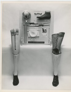 Thumbnail of Educational display about prosthetic legs