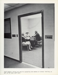 Thumbnail of Staff member office at the Speech and Hearing Institute