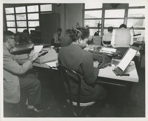 Thumbnail of Trainees at TOWER clerical training