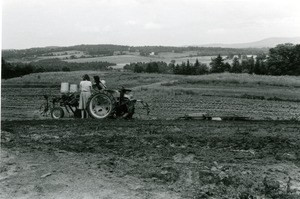 Thumbnail of Tractor working a field in Vermont