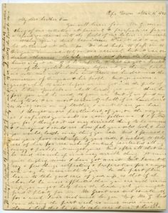 Thumbnail of Letter from Hannah Davis Grout to Elnathan Davis