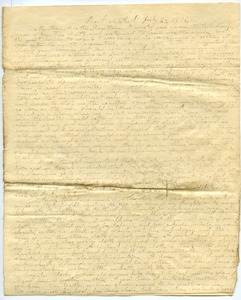 Thumbnail of Letter from Aldin Grout to Elnathan Davis