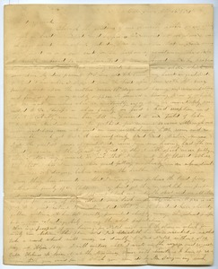 Thumbnail of Letter from Aldin Grout and Charlotte Bailey to James and Elizabeth Bailey