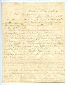 Thumbnail of Letter from Aldin Grout to James Bailey