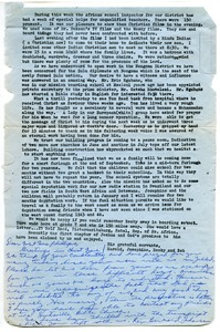 Thumbnail of Letter from Harold Stevens to Norine Phillips Lee
