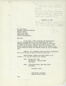 Thumbnail of Letter from Jane Welsh to Robert Straus