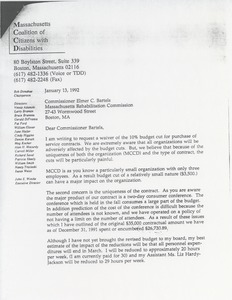 Thumbnail of Letter from John E. Winske to Elmer C. Bartels