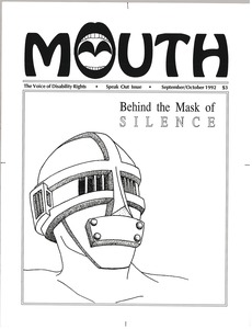 Thumbnail of This brain has a mouth the voice of disability rights vol. 3 no. 3 September/October