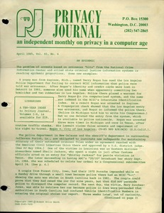 Thumbnail of Privacy Journal
