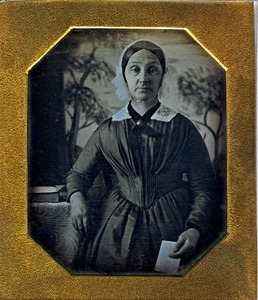 Thumbnail of Portrait of a middle-aged woman