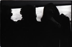 Thumbnail of Crew inside the Free Spirit Press bus (underexposed)