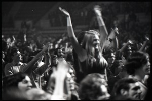 Thumbnail of Richard Nader's Rock and Roll Revival concert at the Springfield Civic Center:             jubilant crowd