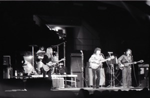 Thumbnail of Richard Nader's Rock and Roll Revival concert at the Springfield Civic Center:             back-up band