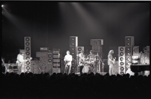 Thumbnail of Grateful Dead concert at Springfield Civic Center: band in performance