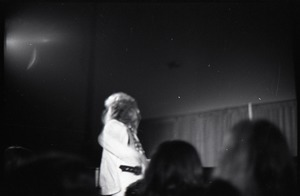 Thumbnail of Jethro Tull in concert at the Springfield Civic Center: unidentified band member