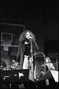Thumbnail of Jethro Tull in concert at the Springfield Civic Center: Ian Anderson at the microphone