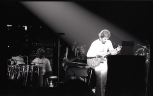 Thumbnail of Santana concert at the Springfield Civic Center: Carlos Santana in the spotlight