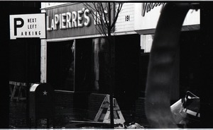 Thumbnail of Fire on Main Street, Greenfield, Mass.: ruins of La Pierre's store