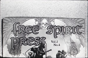 Thumbnail of Close-up of front cover of Free Spirit Press (vol. 1, 4)