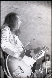 Thumbnail of Wedding of Jim and Anne Baker: Rapunzel performing at wedding reception: Joe             Podlesny (guitar)