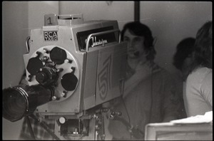 Thumbnail of Television camera and operator for the WGBY program Open Door