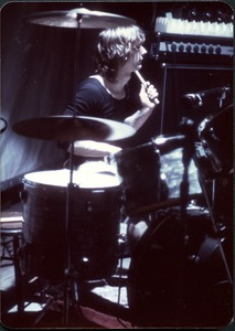 Thumbnail of Tommy Snyder playing drums
