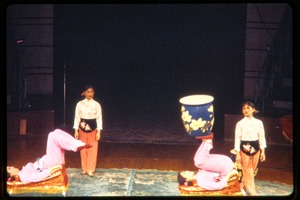 Thumbnail of Shanghai acrobats: acrobats juggling a large vase on their feet