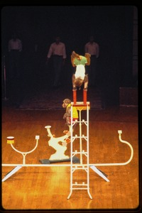 Thumbnail of Shanghai acrobats: monkey act, with ladder