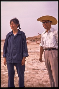 Thumbnail of Man (tour guide) and woman