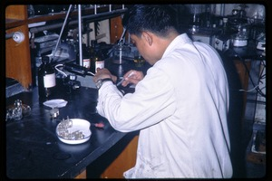 Thumbnail of Chinese Academy of Sciences, Institute of Zoology: scientist in his laboratory