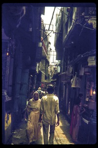 Thumbnail of Street scene, with view down a narrow alley
