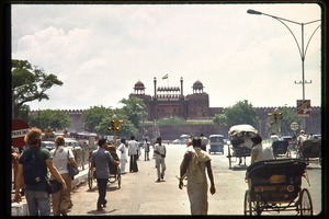 Thumbnail of Street leading up to the Red Fort