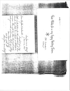 Thumbnail of Letter from Mr. and Mrs. Lietz to the Reverend John H. McDonald