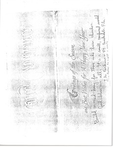 Thumbnail of Letter from the Corkums to 'Carpenters for Christmas'