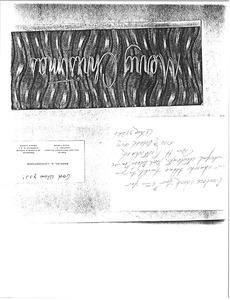Thumbnail of Letter from Samuel A. Livingstone to Antioch Baptist Church