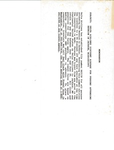 Thumbnail of Memorandum from Delta Airlines to persons attending reunion in Jackson, Mississippi