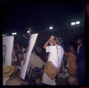 Thumbnail of Fannie Lou Hamer speaking at Mississippi Freedom Democratic Party demonstration at Democratic National             Convention