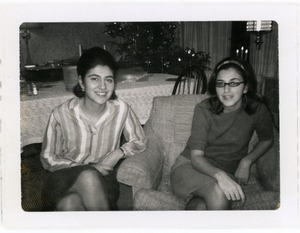 Thumbnail of Cousin Constance (later Zinnia) and Gloria Xifaras Clark