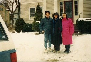 Thumbnail of Gloria Xifaras Clark and tenants at her home