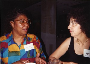 Thumbnail of Charleana Hill Cobb and Gloria Xifaras Clark at Mississippi Homecoming Reunion