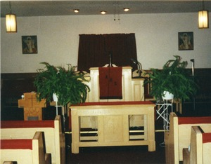 Thumbnail of Altar at the Antioch Missionary Baptist Church