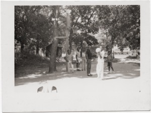 Thumbnail of Children playing basketball
