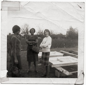 Thumbnail of Marjorie Merrill and two middle-aged African American women