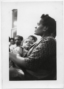 Thumbnail of Genevra Reaves (taught at Rust College) and child